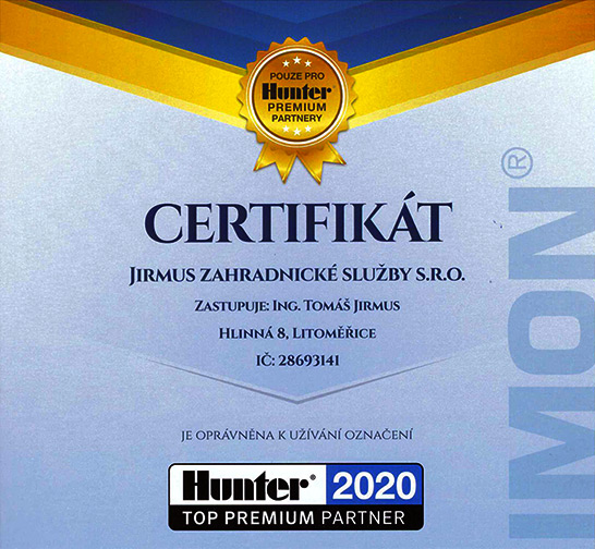 2020 hunter premium partner aktualita