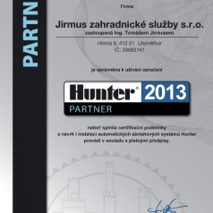 2013 - Hunter partner