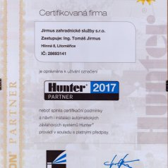 2017 - Hunter partner